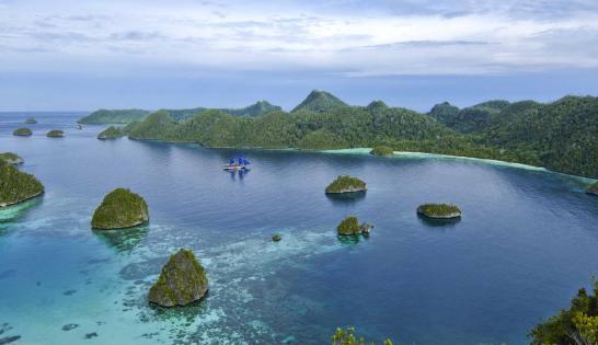 Raja Ampat en Indonésie à bord de l'Aurora