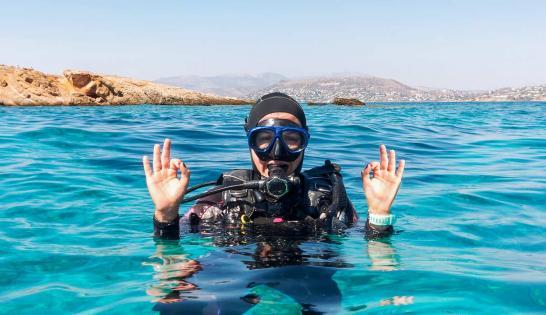 Baptême de plongée Méditerranée