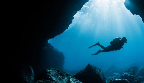 Une des grottes de Queso Suizo