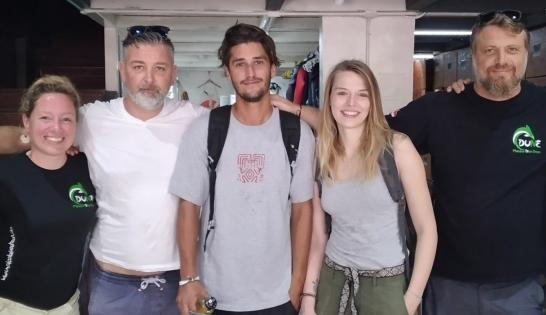 Felix et les candidats IDC Padi au Mexique