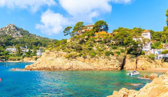 Le magnifique littoral de Minorque