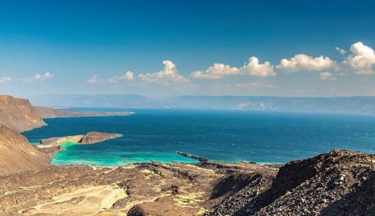 Le littoral aride de Djibouti