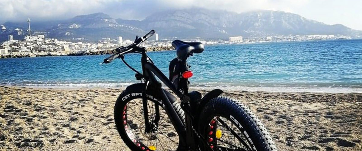 Balade en fat bike à travers la ville de Marseille